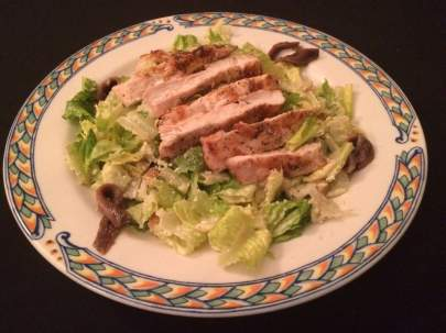 Caesar Salad with Grilled Chicken from Di Mare Vero Beach